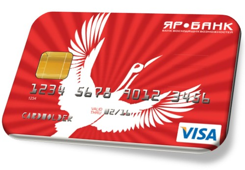 Онлайн заявка на кредитную карту ЯР банк оформить с доставкой