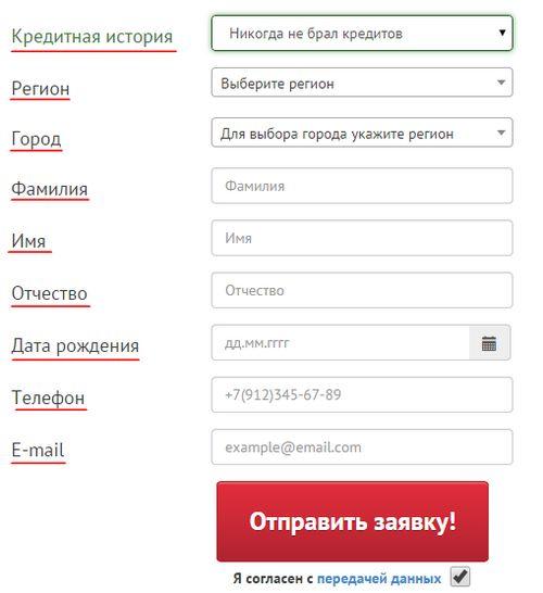 росденьги официальный сайт онлайн заявка в МФО