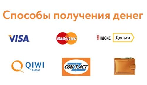 способы получения денег o money ru