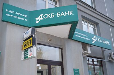 СКБ Банк режим (график) работы отделений