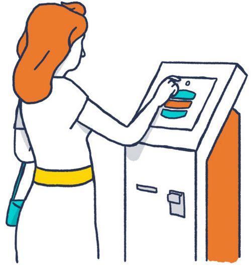 осуществить платеж через терминал Киви