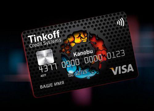 тинькофф Kanobu кредитная карта онлайн