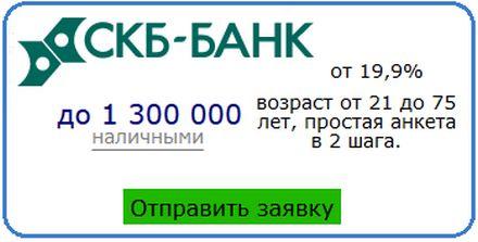 СКБ Банк онлайн личный кабинет