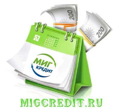 ООО МФО Миг Кредит официальный сайт