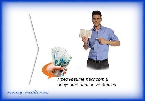 ваши деньги займ наличными по паспорту