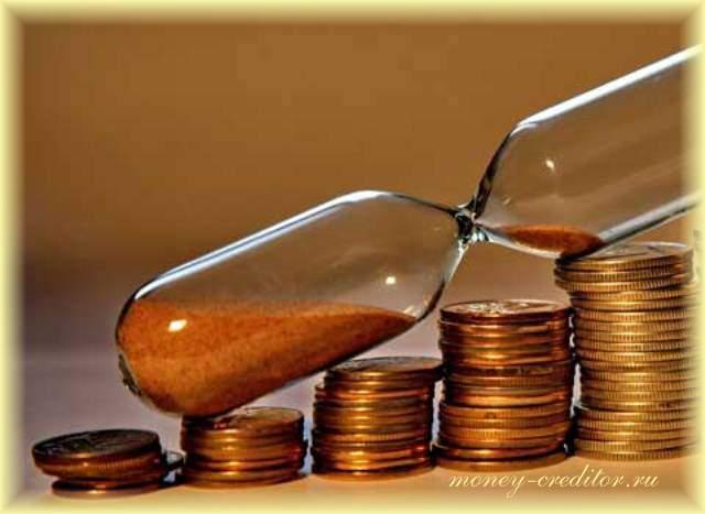 длительность принятия решения банком о выдаче кредита