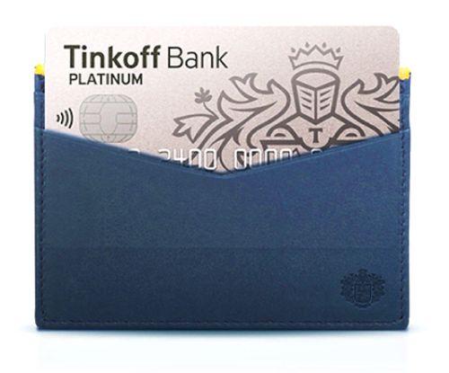 Банк Тинькофф Платинум карта с кредитным лимитом