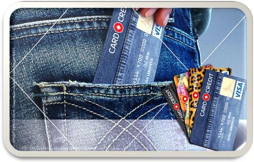 кредитная карта в кармане удобно использовать
