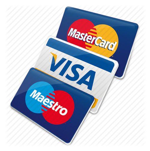 пластиковые карты виза мастеркард маестро