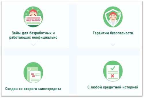 МФО Центр займов официальный сайт по выдаче денег в долг