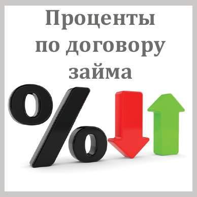 Начисление процентов по договору займа с учетом графика погашения задолженности